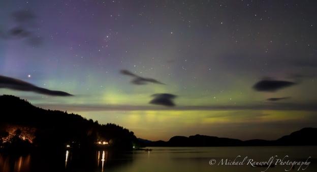 northern lights Ketchikan Alaska