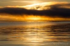 calm Alaska sunrise