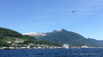 An iPhone shot of Ketchikan as we were heading out of town.