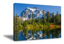 mount shuksan canvas print