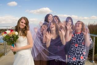 Kelsie with bridesmaids